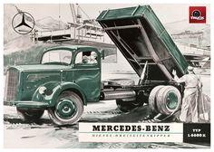 MERCEDES BENZ TRUCK HISTORY