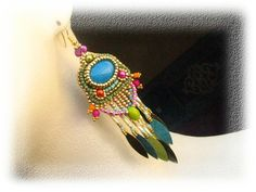 Earrings for the summer by budaikata on Etsy