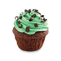 St. Patrick's Day Crème de Menthe Cupcakes | MyRecipes.com
