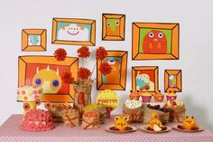 Retratos para decorar una fiesta monstruos! / Portraits for a monster party decoration!