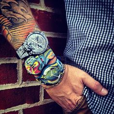Swatch & ART by Tin-Tin By @Lifestyle Mirror