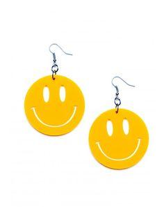 smiley FACE EARRINGS~