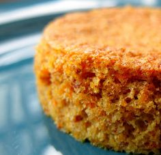 Flourless Carrot Cakes for Passover