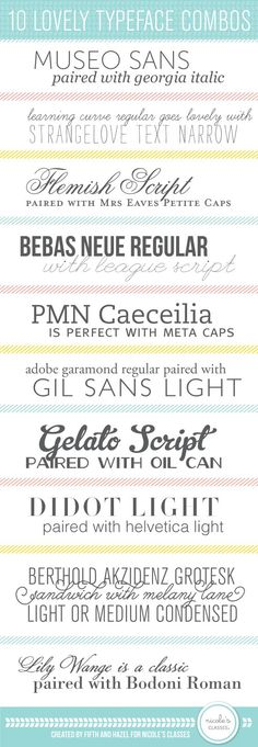10 Great Typeface Pa
