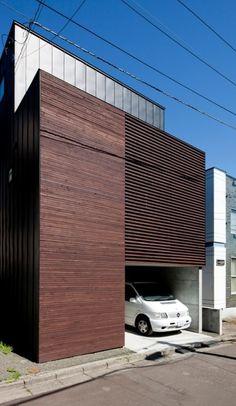 Louver House, Sapporo, Japan / Code Architectural Design