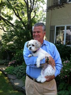 Here's New York Senate Co-Leader Dean Skelos and his dog Rocky.  Senator Skelos represents the 9th District, which encompasses a portion of Long Island including Rockeville Center and Oceanside.   This is fourth year serving as an Honorary Chair for Meet the Breeds.