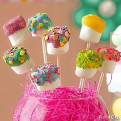 Easter fun! Super easy dipped marshmallows.