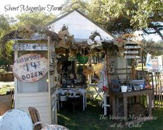 """Sweet Magnolias Farm"" garden shed display, March 1-3, 2013 TVM show."