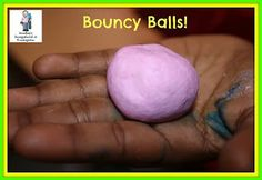 Bounce Into A New Year by making your own bouncy balls!