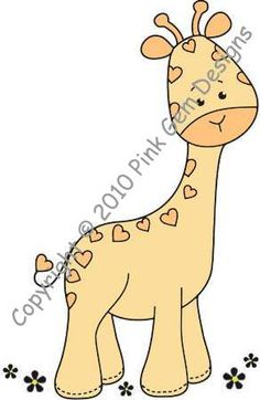 how to draw a giraffe easy