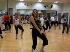 Zumba - Tootsie Roll --- I loved this song in high school! lol
