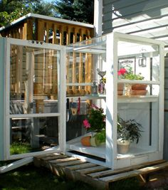 A DIY Greenhouse