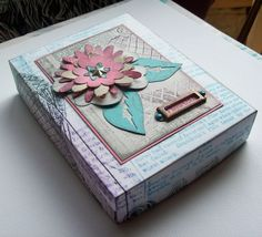 Crzymom's Tidbits - Great card box filled with Club Scrap cards!