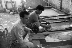 Making lacquer, Saigon