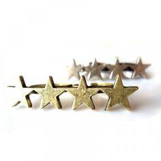 Double Finger Stars Ring