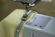Tutorial on sewing in an invisible zipper.