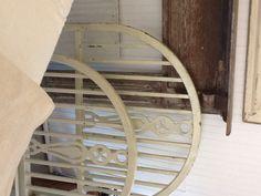 vintage metal bed frame