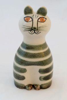 Lisa Larson Tripp Cat – Gustavsberg