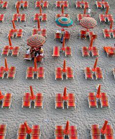 beach chairs, sand, beach umbrella, beach beauty, at the beach, albania beach, orange beach
