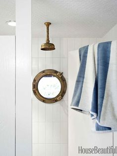 What a clever porthole window!