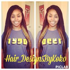 Box braids! on Pinterest Box Braids, Poetic Justice Braids and Larg ...