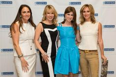 Mara Sandler and Mindy Feinberg, co-presidents, New York Chapter, Einstein National Women's Division, with Ramona Singer and Sonja Morgan of the Real Housewives of New York, at the 59th Annual Spirit of Achievement Luncheon.