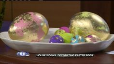 Video--House Works: Decorating Easter Eggs--Judy Tuttle, Stampin' Up!