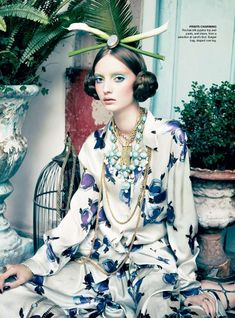 """""""Prints Charming"""" from the editorial """"Orient Excess"""" 