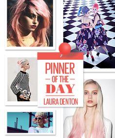 Laura Denton  http://pinterest.com/lauradentonpins/pastel-hair-2-scoops-please/