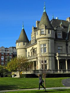 French Chateau Style Colonel Frank Hecker House in Detroit, MI