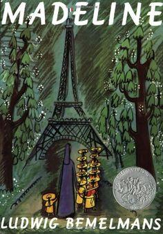 Madeline  by Ludwig Bemelmans #Books #Kids #France