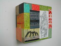 Deborah Putnoi, mixed media on wood