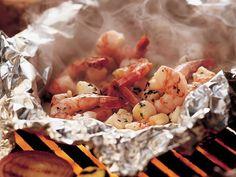 Grilled Herbed Seafood Packs