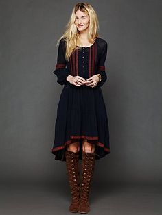 """Free People """"With A Light Heart Dress"""""""