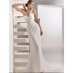 Find Long Chiffon Bridal Wedding Dress for my wedding