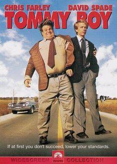 tommyboy, funny movies, tommi boy, chris farley, tommy boy, fat guy, movie nights, favorit movi, coats