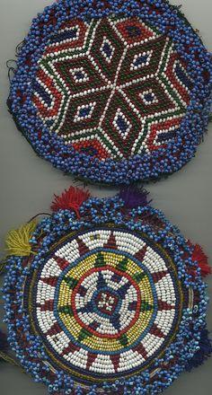 Sky Rainbow vintage beadwork mandalas   Flickr -