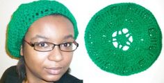 Crochet Pattern: Star Beret