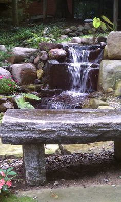 Ponds Waterfalls On Pinterest Ponds Water Features