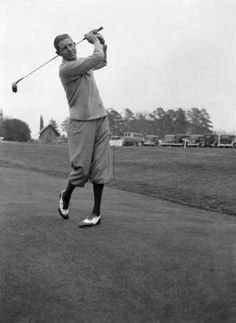 Relive the History - The History of the Augusta National Masters Golf Tournament ** The 1930's: Horton Smith is seen in the first Masters Tournament, which he won in 1934. He triumphed again in 1936. - More history and photos at www.Augusta.com