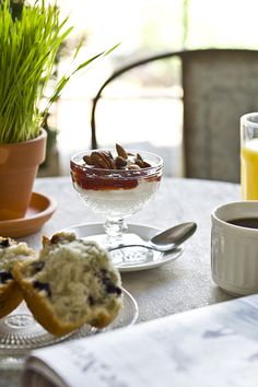 The incredible breakfast spread is made by co-owner, Kevin O'Shea, every morning.