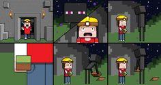 Funny Minecraft Comic