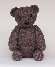 Knitting Patterns Teddy Bear Stuffed Animals : Ravelry: Owen pattern by Jane Watling