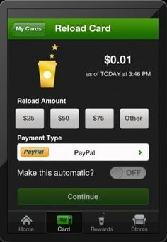 Starbucks for iPhone updated to version 2.2, adds PayPal support