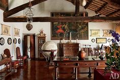 Count Raniero Gnoli's Well-Curated Italian Home, via Architectural Digest