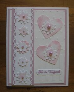 Punch Art, Wedding by Carolynn - Cards and Paper Crafts at Splitcoaststampers