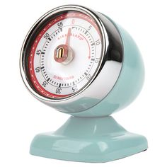 Vintage-inspired chic timer... Loving the color! $20