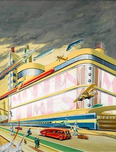 Some of the best of the brilliant Bruce McCall.