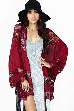 Sheer Caress Kimono