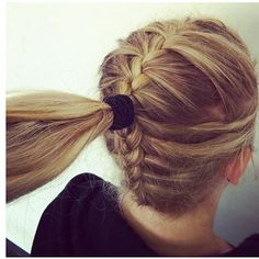 Could do this with a bun also